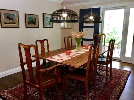Marstons Mills Marstons Mills vacation rental - Dining room with table from 1700's.