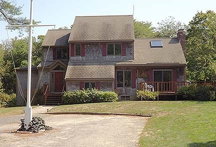 Chatham Cape Cod vacation rental - Front of the house.