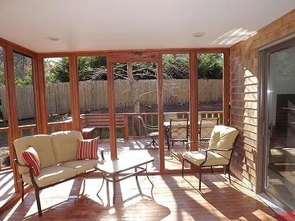 Chatham Cape Cod vacation rental - Screened-in porch.
