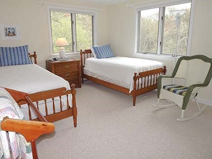 Chatham Cape Cod vacation rental - Second floor twin bedroom.
