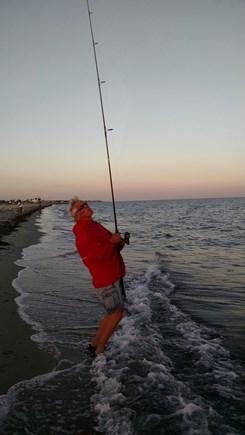 Dennisport Cape Cod vacation rental - Enjoy great fishing at Union Wharf Beach just 300 feet away!
