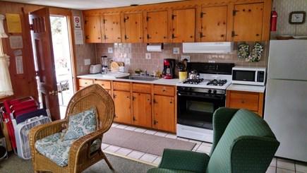 Dennisport Cape Cod vacation rental - Kitchen and entrance