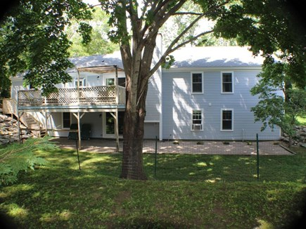 Centerville Centerville vacation rental - Back yard is securely fenced in for dogs