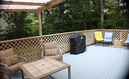 Centerville Centerville vacation rental - Spacious Deck with grill