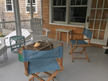 East Orleans Cape Cod vacation rental - Spacious screened porch: a great place for a game or a good book