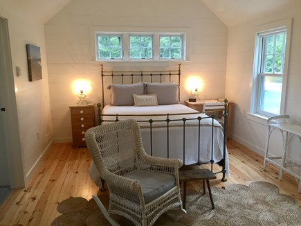 East Orleans Cape Cod vacation rental - Private master bedroom with bath and walk in closet.