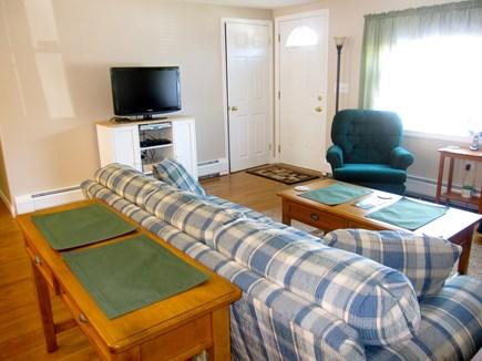 West Dennis Cape Cod vacation rental - Living room showing TV
