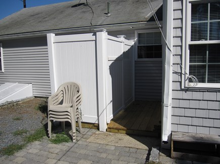 West Dennis Cape Cod vacation rental - Enclosed outside shower with changing area