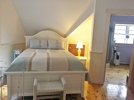 Wellfleet Cape Cod vacation rental - Loft bedroom with Queen & daybed next to Jack & Jill bathroom AC
