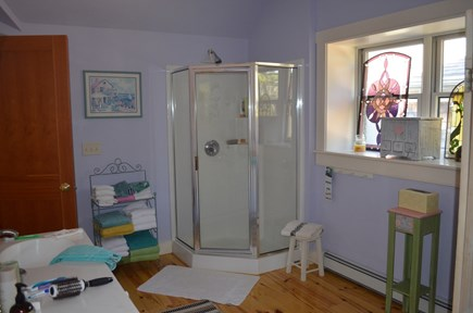 Wellfleet Cape Cod vacation rental - Jack & Jill Bathroom between Loft bedroom & Guest bedroom.