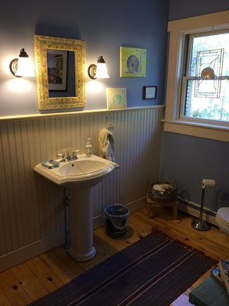 Wellfleet Cape Cod vacation rental - First Floor Half Bath