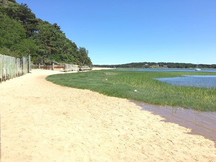 Wellfleet Cape Cod vacation rental - Pleasant Point Beach.swimming, walks, kayaking 1/4 mi.from home