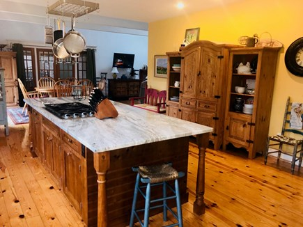 Wellfleet Cape Cod vacation rental - Chefs Kitchen .. looking into the Dining Room