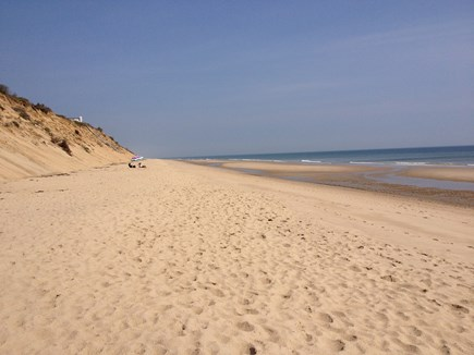 Wellfleet Cape Cod vacation rental - 6-m. drive to beautiful LeCount Hollow Beach on Atlantic Ocean