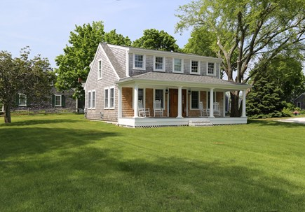 Sandwich Cape Cod vacation rental - Beautiful front yard and porch.