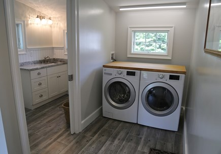 Sandwich Cape Cod vacation rental - Laundry Room.