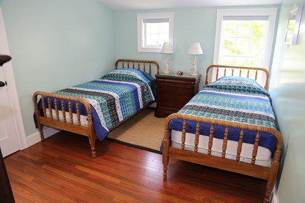 Sandwich Cape Cod vacation rental - Bedroom with Twins on 2nd Floor.