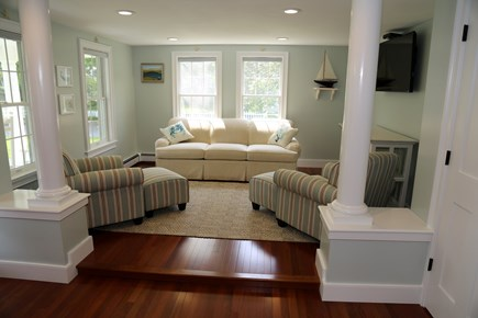 Sandwich Cape Cod vacation rental - Step down into the Living Room.