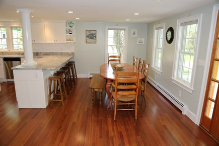 Sandwich Cape Cod vacation rental - Dining Room is across hall from Living Room.
