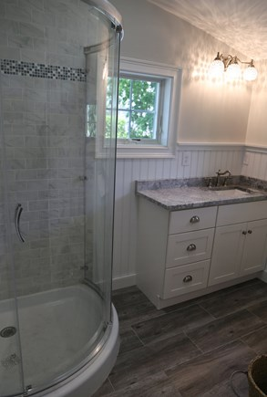 Sandwich Cape Cod vacation rental - Bath on 1st Floor with shower.