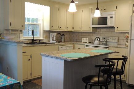 Harwich Cape Cod vacation rental - Well Equipped Kitchen with Granite Counter tops