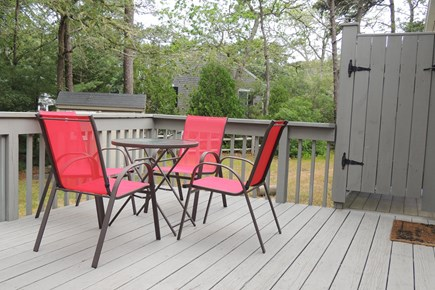 Harwich Cape Cod vacation rental - Deck and Outdoor Shower