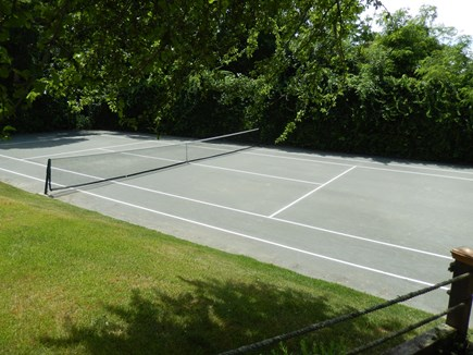 Falmouth Cape Cod vacation rental - Private Clay Tennis Court