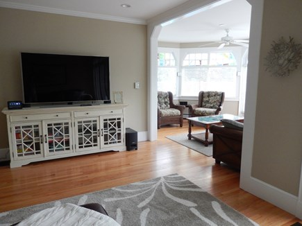 Falmouth Cape Cod vacation rental - TV Room