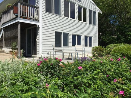 East Falmouth Cape Cod vacation rental - The first floor and patio area are yours!