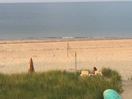 Sagamore Beach, Sandwich Sagamore Beach vacation rental - View of the dunes/beach/walkway.  20 steps from deck to beach!