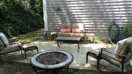 Sagamore Beach Sagamore Beach vacation rental - Backyard patio, we also have a lower patio just walk out from LL