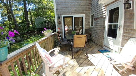 Sagamore Beach Sagamore Beach vacation rental - Deck or grilling and eating outside