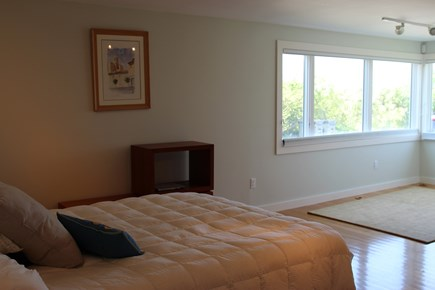 Truro Cape Cod vacation rental - Main level bedroom with queen bed, bath with shower