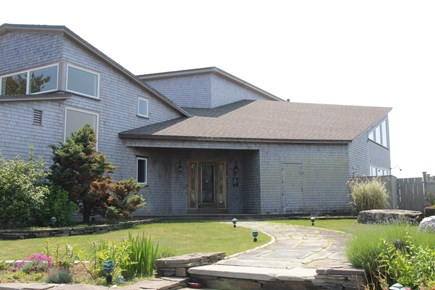 Truro Cape Cod vacation rental - Nicely landscaped, contemporary home with spectacular views