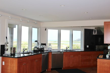 Truro Cape Cod vacation rental - Partial view of the Kitchen
