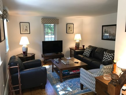 Harwich Cape Cod vacation rental - Living room TV