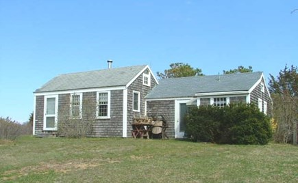 Orleans Cape Cod vacation rental - Front view of cottage located on Mill Pond