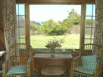 Orleans Cape Cod vacation rental - Looking out living room window to Mill Pond