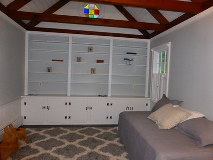 Eastham Cape Cod vacation rental - Downstairs bedroom - trundle twins or a king.