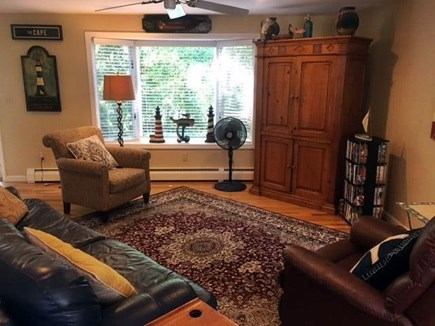 West Hyannisport Cape Cod vacation rental - Another view of living room
