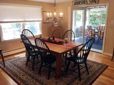 West Hyannisport Cape Cod vacation rental - Dining room