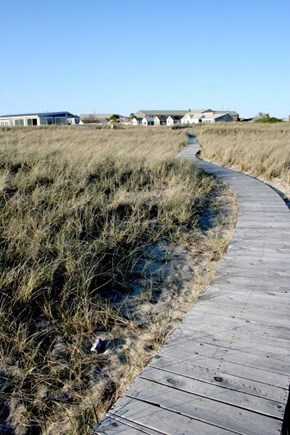 Provincetown East End Cape Cod vacation rental - Boardwalk to the Beach