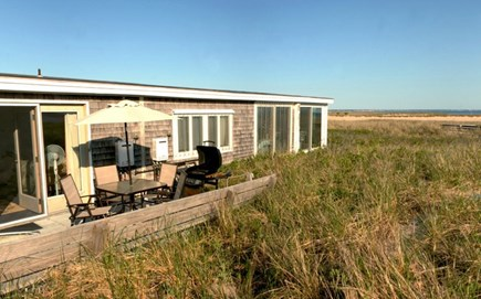 Provincetown East End Cape Cod vacation rental - Deck
