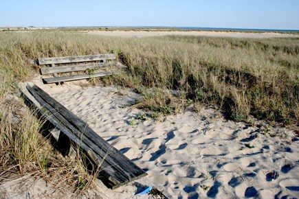 Provincetown East End Cape Cod vacation rental - Beach Sitting Area