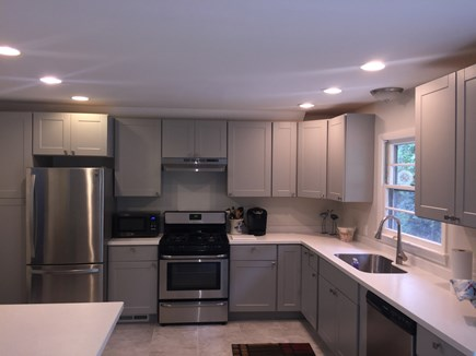 Falmouth Cape Cod vacation rental - Brand new large Kitchen, extends to Dining Room & Patio
