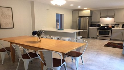 Falmouth Cape Cod vacation rental - Dining Rooms seats 8 with easy kitchen and patio access