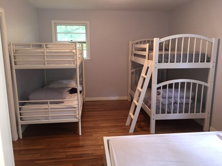 Falmouth Cape Cod vacation rental - Kids Room sleeps 5 with private LCD TV