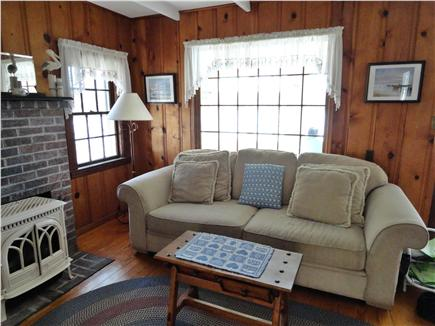 Sandwich Cape Cod vacation rental - Living room with water view