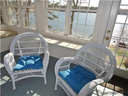 Sandwich Cape Cod vacation rental - Relax on enclosed porch