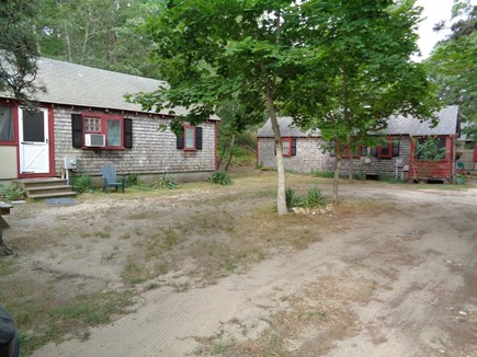 Truro Cape Cod vacation rental - Unit 11 and neighbor enjoy the end of the lane